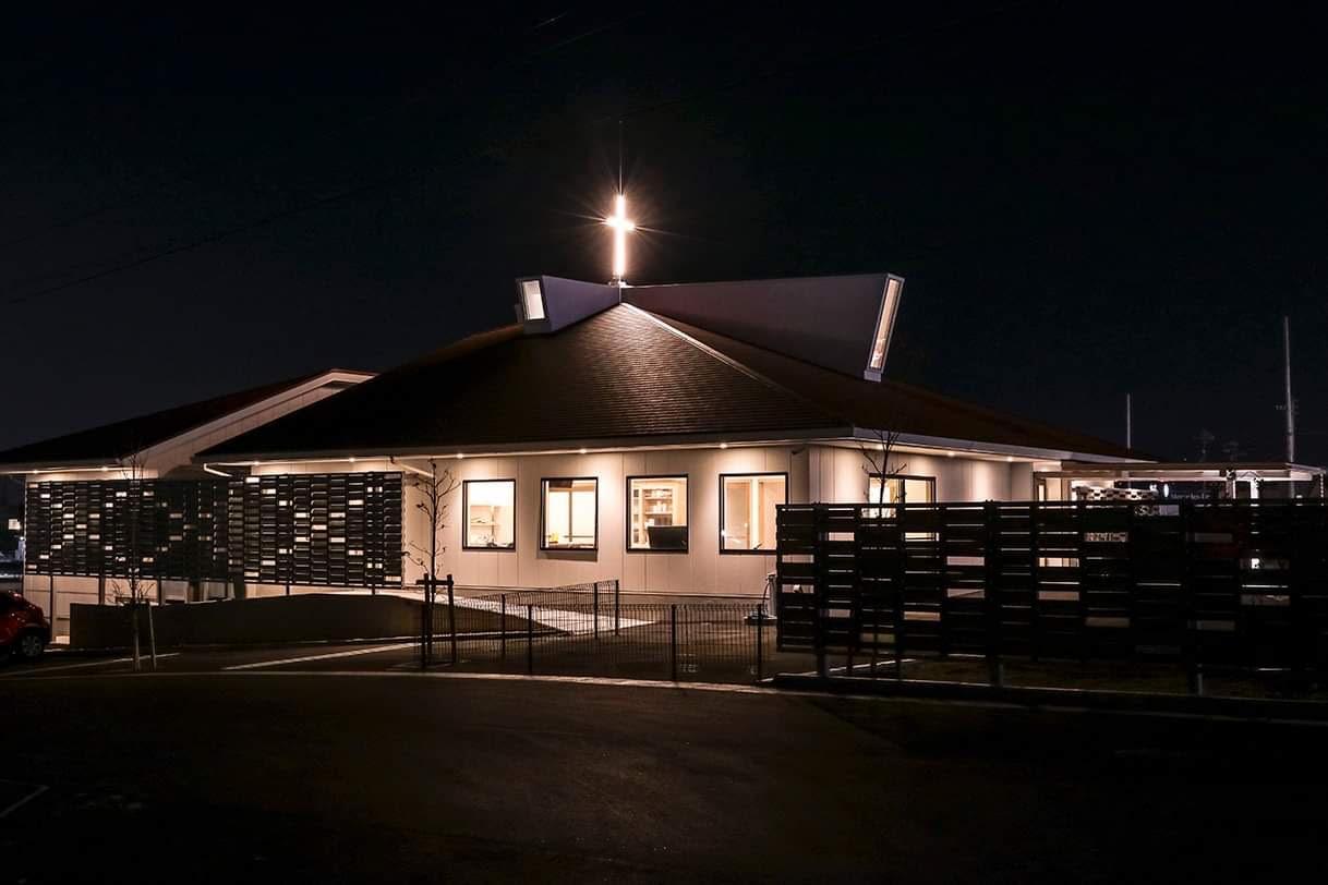 赤池教会のパレット活用