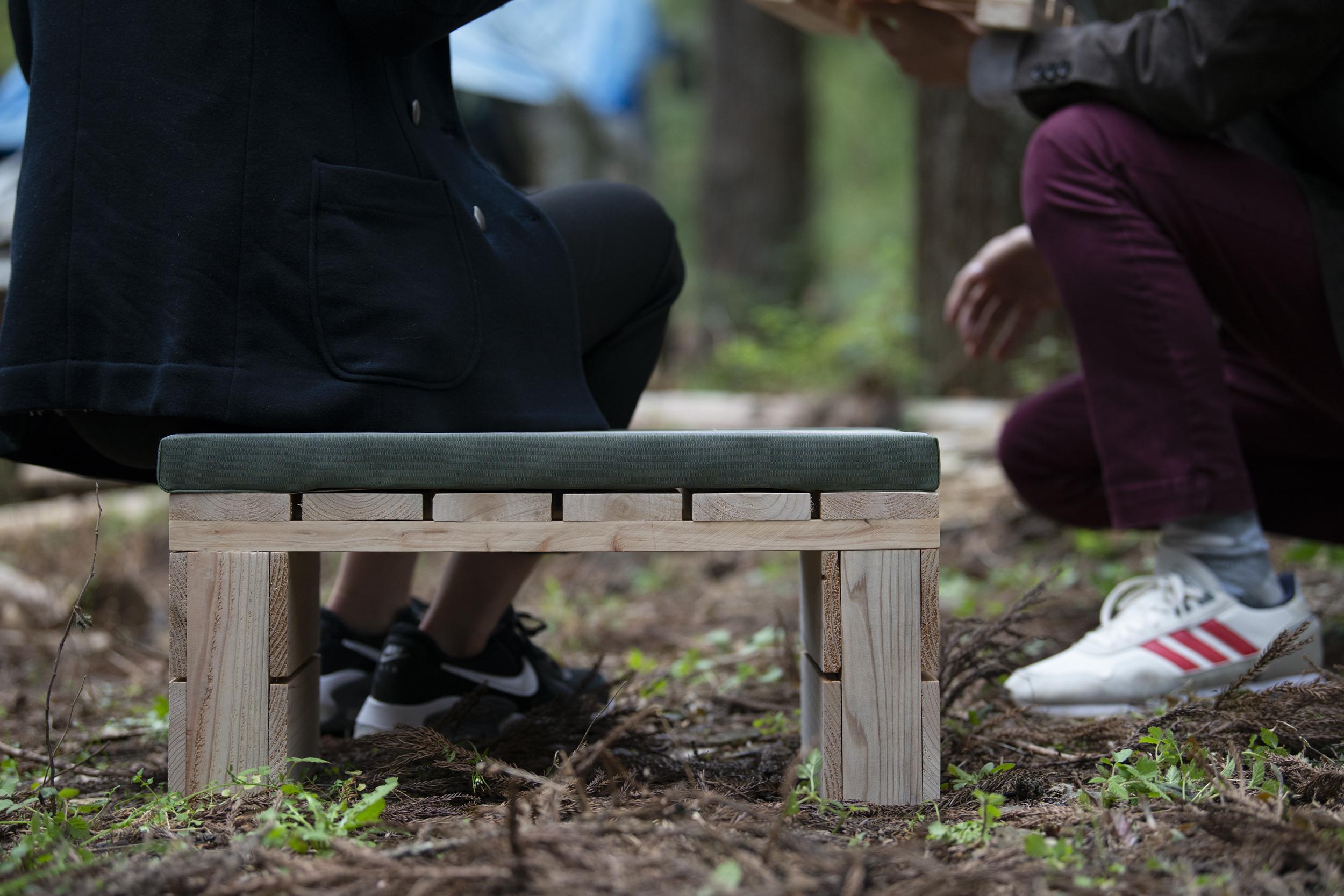 生活と共にするパレット家具