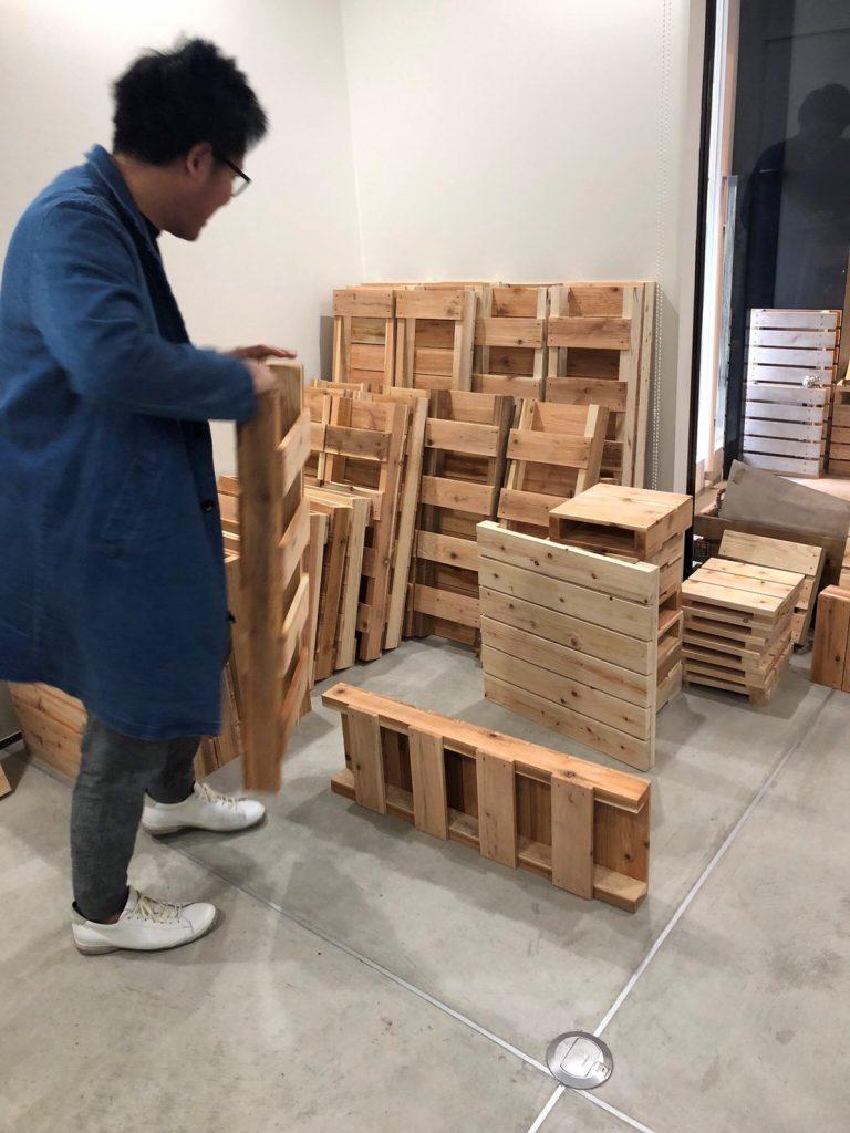 木製パレットの可能性~リノベーション編~
